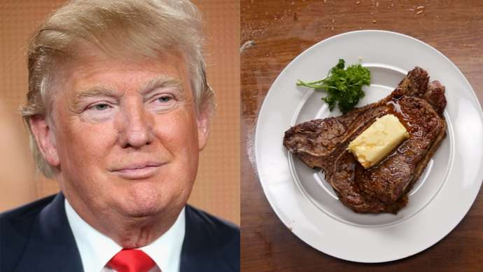 image for Trump Acknowledges that Veganism Is a Social Justice Issue but Explains that He's Not Really Into Social Justice