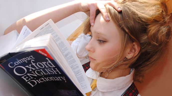 image for Woman Who Read Oxford English Dictionary From Cover To Cover, Not Impressed