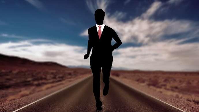 image for London Marathon Winner Kept On Running All The Way Back To Kenya