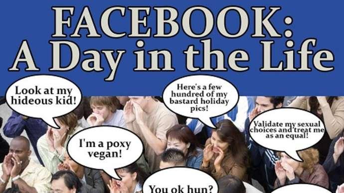 image for Facebook man gradually developing murderous hatred towards 'thread stalker'