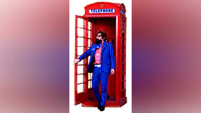 image for 'Trendy' Teenager Caught Using Public Phone!