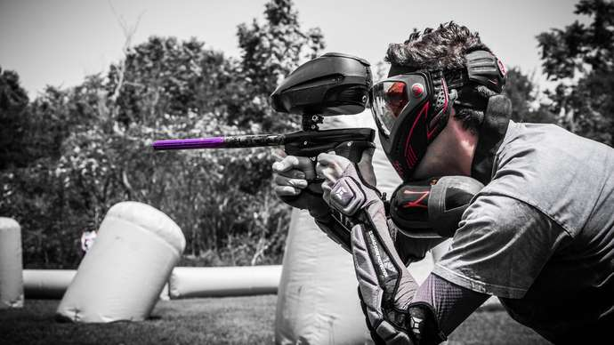 """image for NRA Rolls Out Paintball Guns for New Initiative Saying: """"No More Blood, Just Paint"""""""