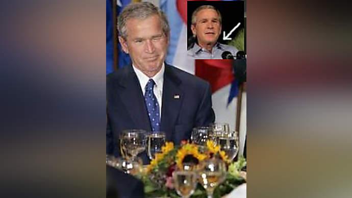 image for President Bush New Orleans speech buttonholed as ineffective