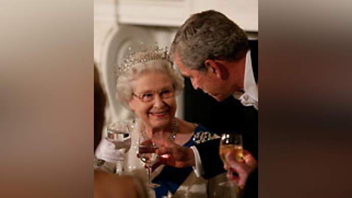 image for 'Better Dead Than Red Ed' butler tells the Queen