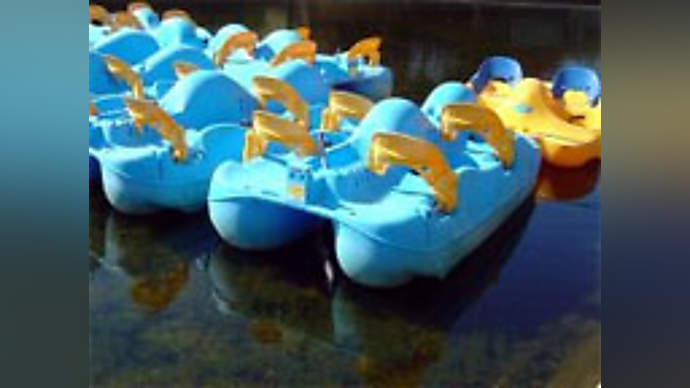 image for BP Armada of Paddle Boats Heads to Gulf From England