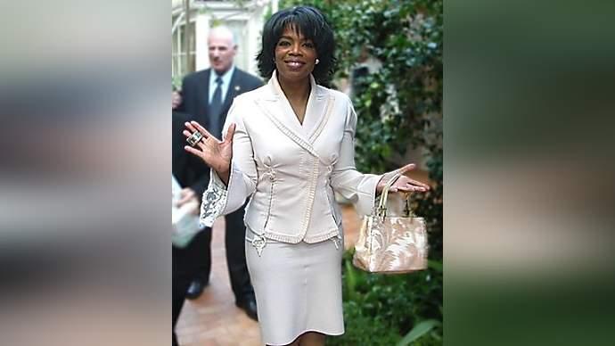image for Oprah denies marrying man who looks a bit like John Cleese