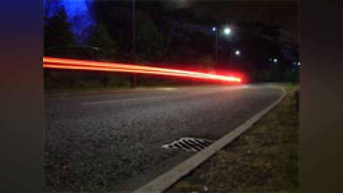 image for Cometoid Streaks Down California Highway 99