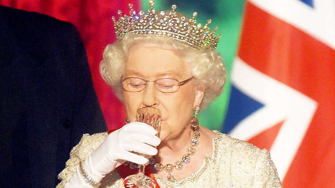 image for Donald Trump State Dinner Gave Queen Heartburn