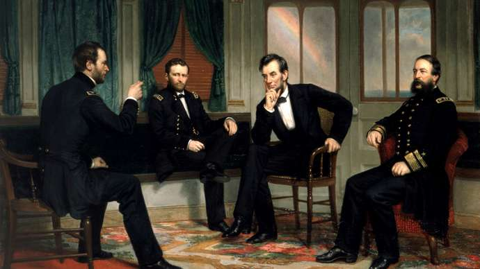 image for 1861: Democrat-controlled House Impeaches Abraham Lincoln