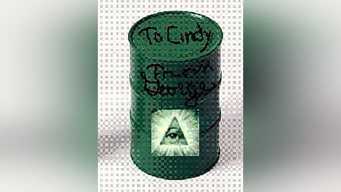 image for George Bush Sends Cindy Sheehan A Peace Offering