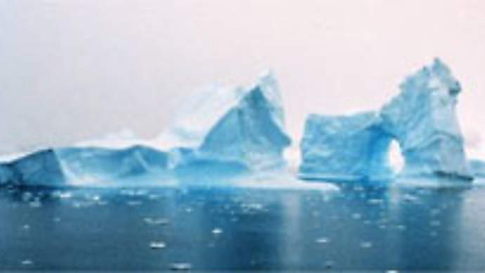 image for President Bush To Make Announcement About Sinking Iceberg