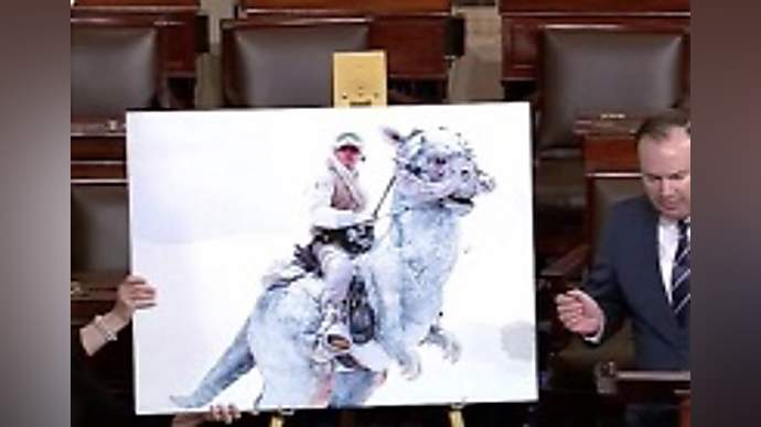 image for Mitch McConnell and Senate Republicans Vote Down Their Own Bill Proclaiming Ocasio-Cortez President