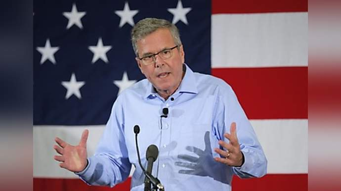 image for Jeb Bush Stakes Out Middle Ground On Gay Marriage