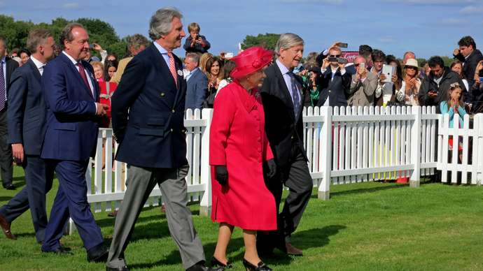 image for Queen To Step Back From Royal Duties