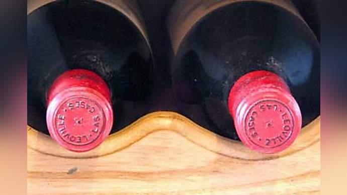image for Man finds joke in 'Rack of Wine'