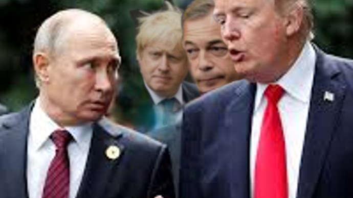 "image for President Trump Sings Softly, Tenderly To Vladimir Putin - ""He's my widdow Wushian Pootie Poo! Yes he is! Yes he iiiiiiiiiiis!"""