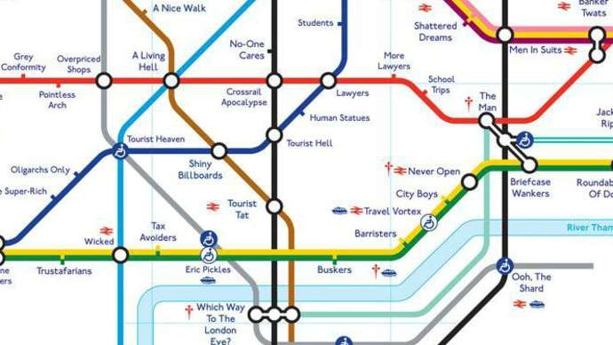 image for All newborns to be tattooed with the London tube map