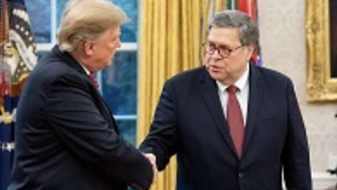 """image for Trump, GOP Thrilled as Barr Promises to """"Investigate Clinton Murders, Tooth Fairy and Easter Bunny Soon"""""""