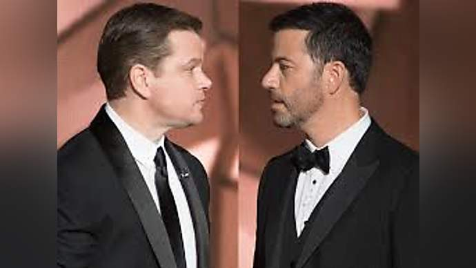 """image for Four Additional Fans of Jimmy Kimmel-Matt Damon """"Feud"""" Located for Oscar Night"""