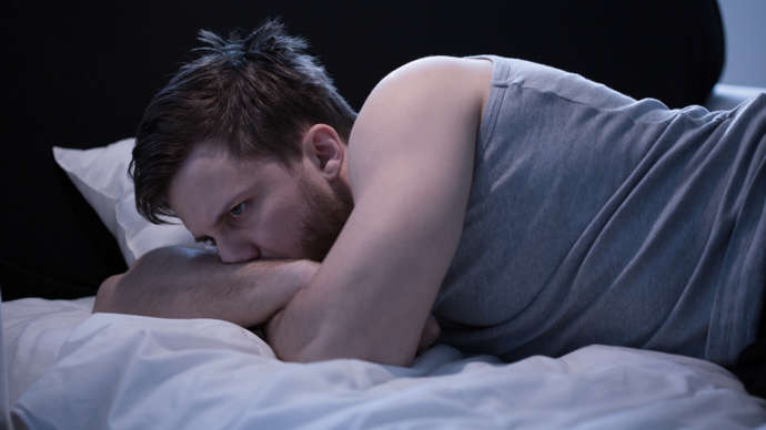 image for Manhattan Man Diagnosed with Existential Insomnia