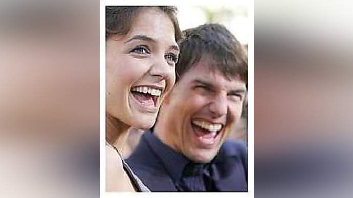 image for Tom Cruise and Katie Holmes Continue Playing House