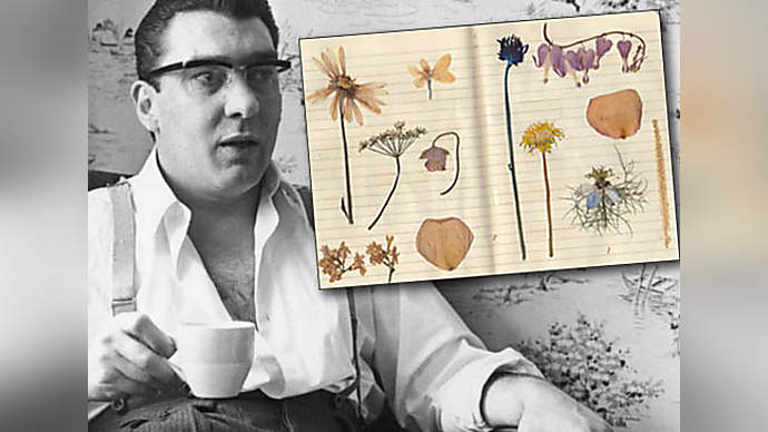 image for Ronnie Kray's Pressed Flower Collection Fetches £14,000 At Auction