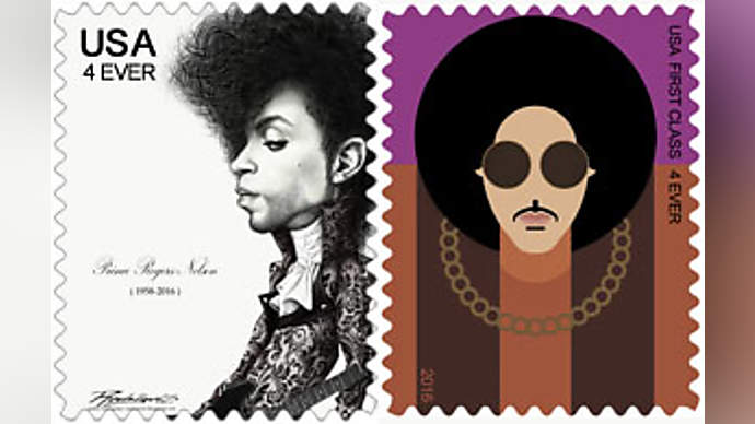 image for Purple Stamps: USPS Releases New Prince Inspired Postage