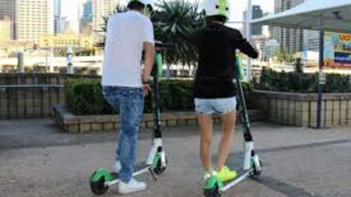 image for Desperate FDA Classifies Riding Electric Scooters as Exercise
