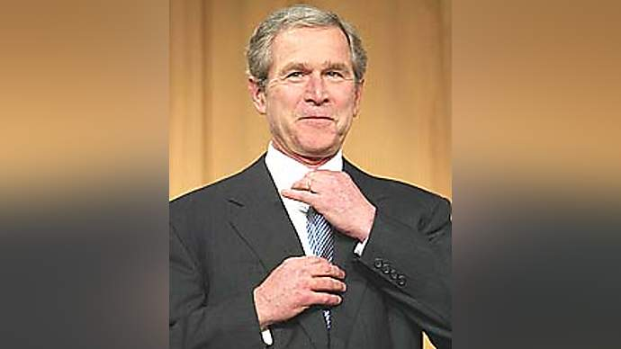 image for President Bush Declares Himself King George I