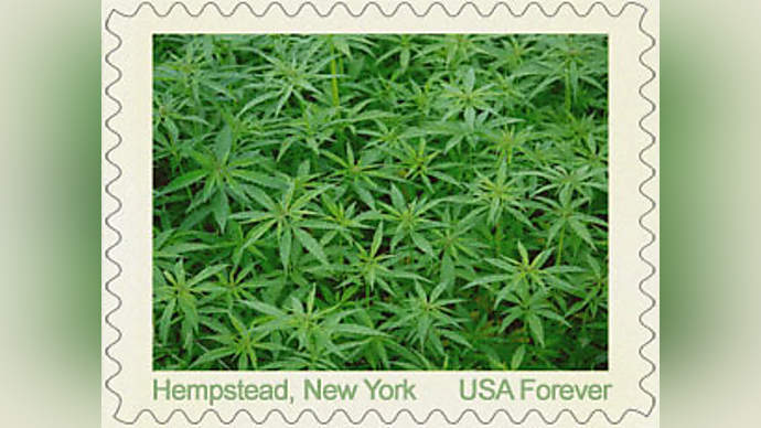 image for Post Office Issues First Marijuana Stamp -- But It's Made In China