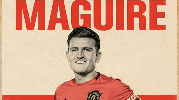 image for Harry Maguire Suspended Indefinitely For Playing With Inflated Balls