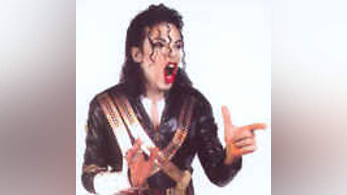 image for Michael Jackson escapes from police