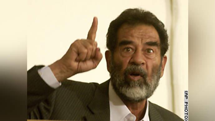 image for Saddam Blames Tyrannical Reign on Childhood Accident