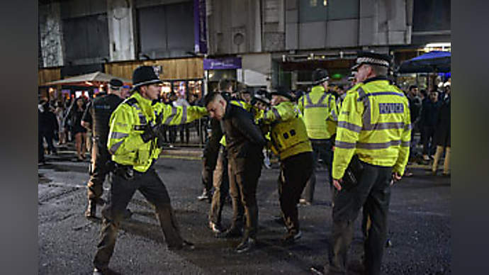 image for Suicidal Man Orders Chocolate Milk In Pub, Fights With Police