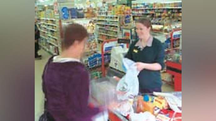 image for My Sparkling Wit Is Wasted On Supermarket Check-out Girls