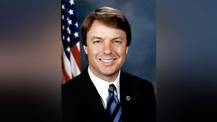 image for Senator John Edwards Says He Is So Lonely He Would Even Date Ann Coulter