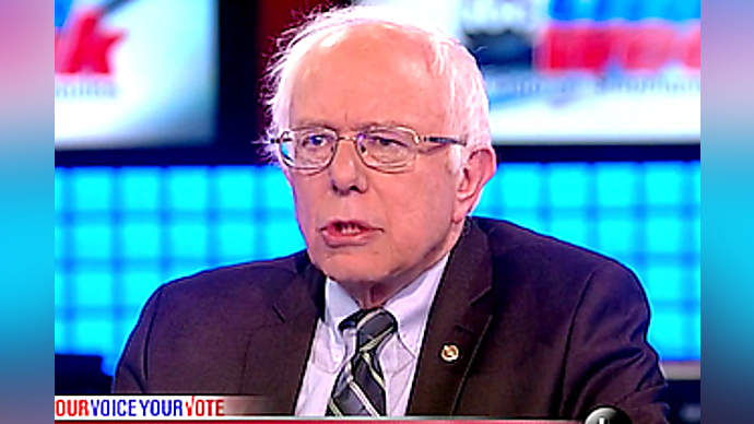 image for Candidate Sanders picks Colonel Sanders for VEEP slot
