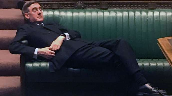 image for Jacob Rees-Mogg to spend 12th Xmas in succession trying to get lid off chutney jar