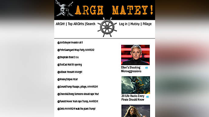 image for Meet ARGH! The New Five Syllable Social Platform Giving Twitter A Run For It's Money