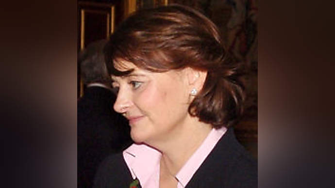 image for Blair 'secretly advising her husband'