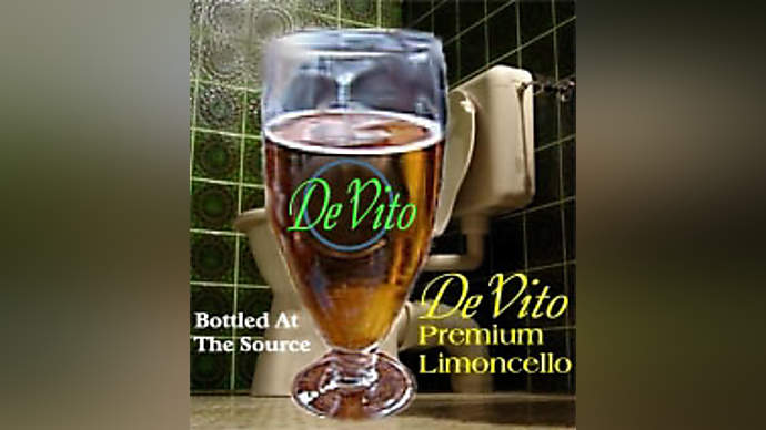 image for Danny DeVito Premium Limoncello Label Really His Piss