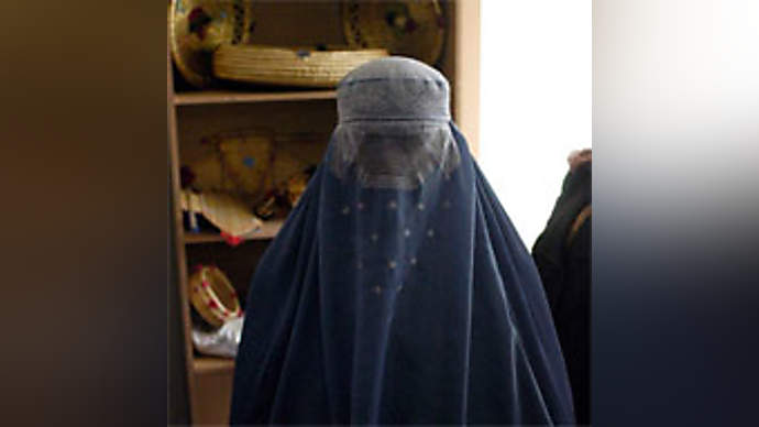 image for BNP's Griffin outfoxes Palace security by arriving in burkha!