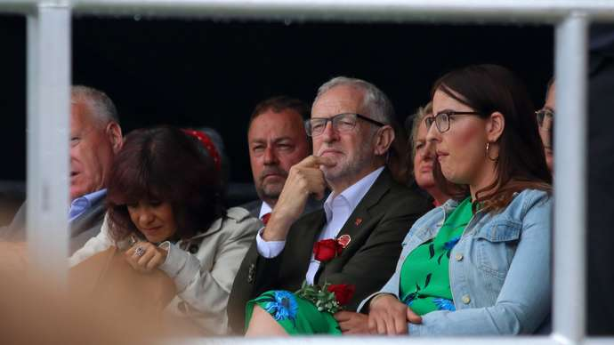 image for Jeremy Corbyn is given a Lordship