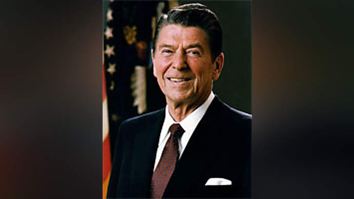 image for Reagan announces candidacy for 2012