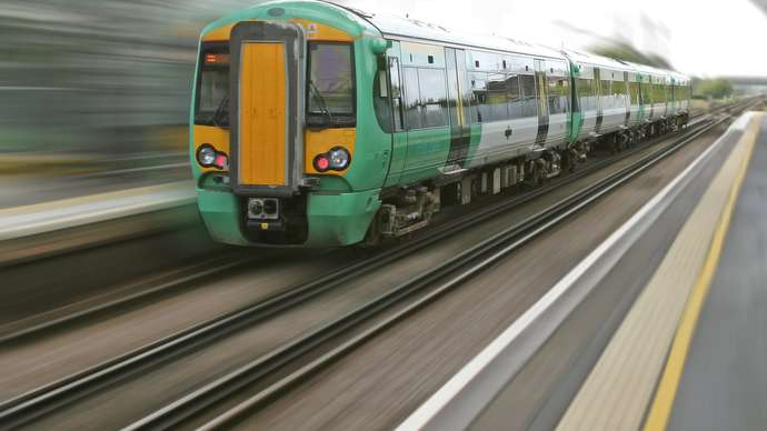 image for Man Felt Intimidated By Train Announcement
