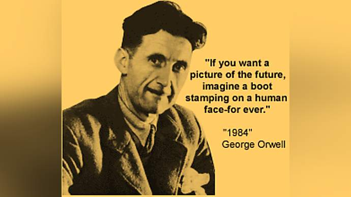 image for George Orwell Has Written A New Book, Even Though He's Dead