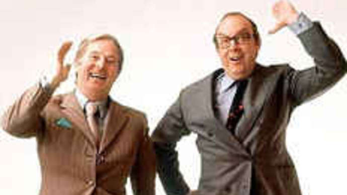 image for Theresa May bombshell: My saucy romps with Morecambe and Wise
