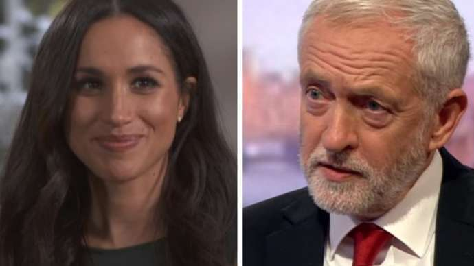 image for Meghan under fire over Jeremy Corbyn chest tattoo