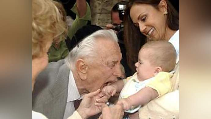 image for Kirk Douglas Becomes Zombie, Eats Baby