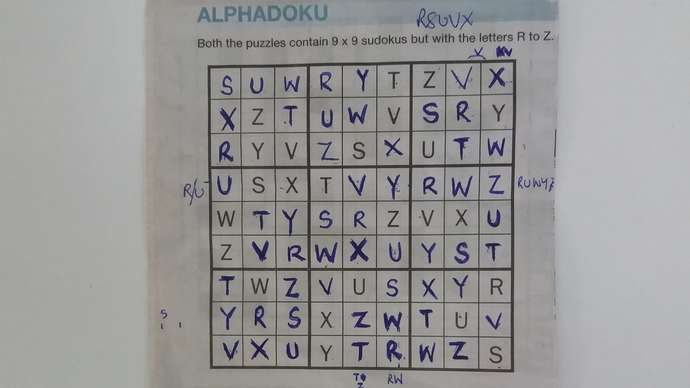 image for Sudoku Puzzle Finally Completed